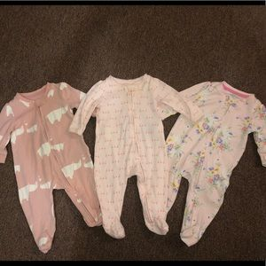 BabyGap set of one piece outfits size 0-3 months